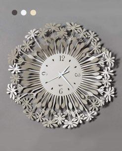 orologio da parete modello soffione piccolo colore beige arti e mestieri