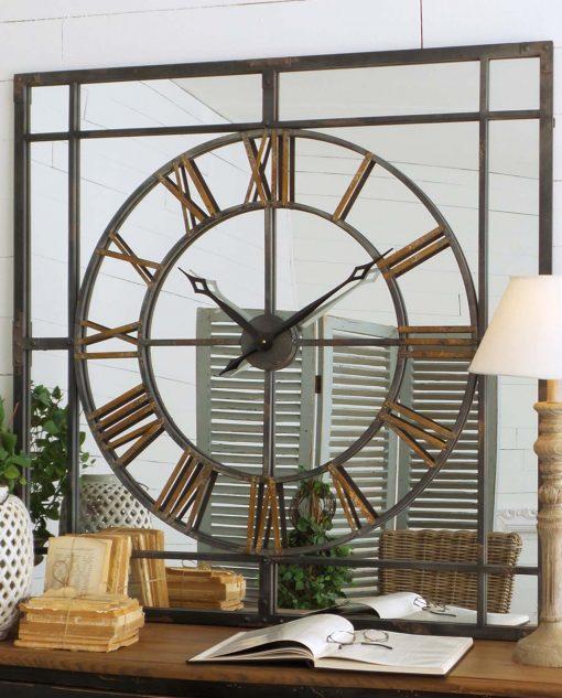 orologio-quadrato-a-specchio-metallo