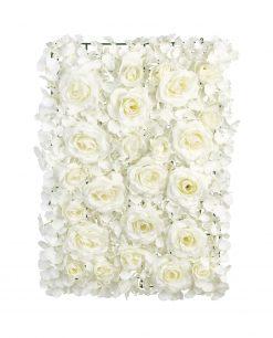 pannello ortensie rose avorio per allestimenti