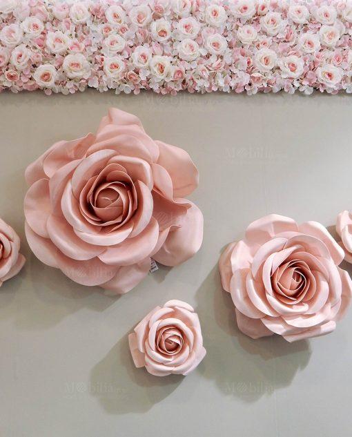 pannello ortensie rose rosa