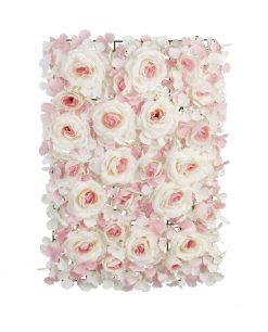 pannello ortensie rose rosa per allestimenti
