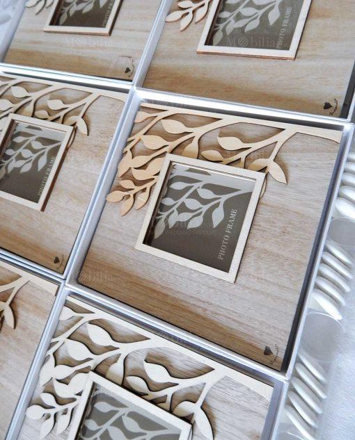 portafoto legno albero della vita cuorematto
