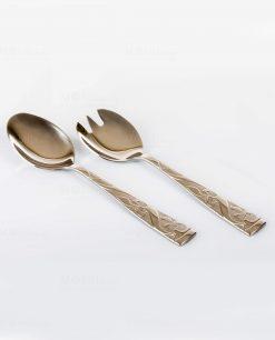 posate per insalata cucchiaio forchetta