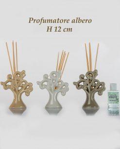 profumatore albero della vita ceramica 3 colori assortiti piccoli