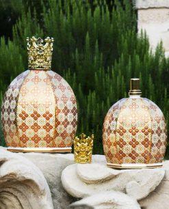 profumatore ambiente bottiglia catalitica louis XIV collezione royal family baci milano