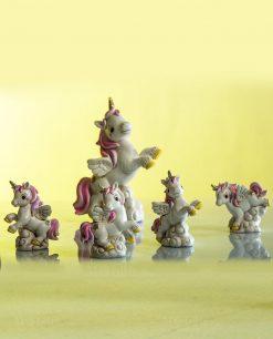 sculturina unicorno varie forme