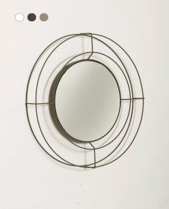specchio modello nudo piccolo colore sabbia arti e mestieri