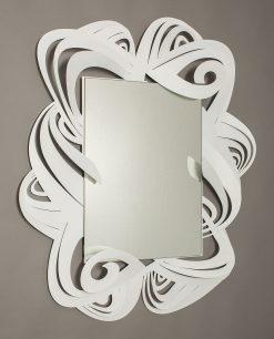 specchio modello penelope colore bianco arti e mestieri