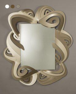specchio modello penelope colore bronzo arti e mestieri