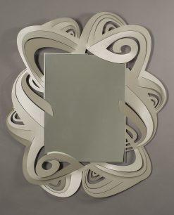 specchio modello penelope colore sabbia arti e mestieri