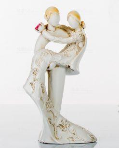 statua media sposi stilizzati