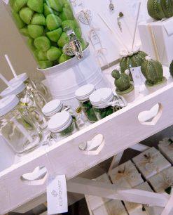tavolo legno bianco 2 scomparti