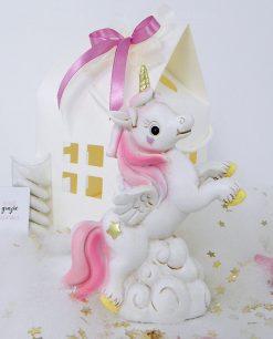 unicorno da appoggio per bomboniera