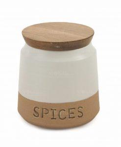 Porta spezie con scritta spices 1