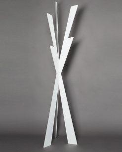 appendiabiti da terra modello zeus colore bianco arti e mestieri