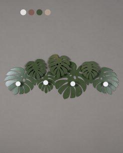 appendiabiti modello montera colore verde arti e mestieri