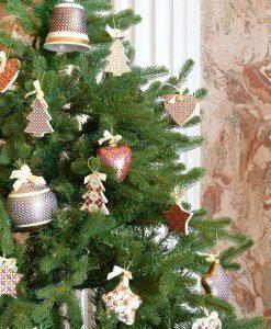 appendini assortiti porcellana decorata baci milano