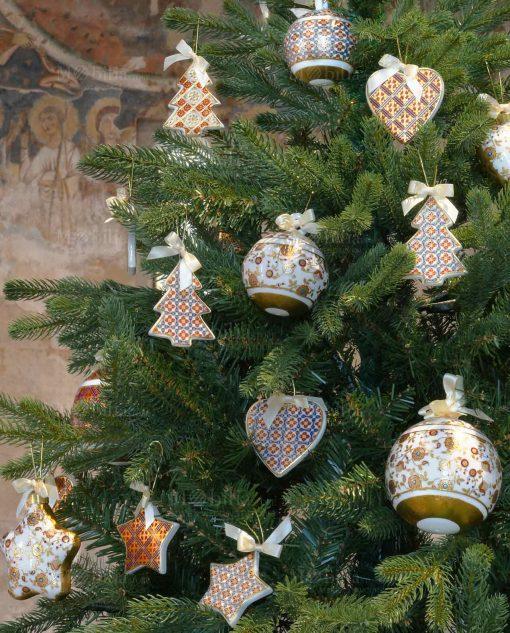 appendini decorativi porcellana colorata baci milano merry christmas