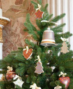 appendini porcellana decorata merry christmas baci milano