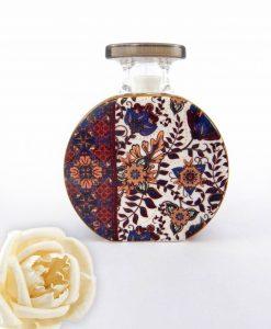 bottiglia profumatore camilla 225 ml con fiore baci milano maroc e roll foulard