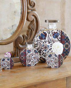 bottiglia profumatore camilla porcellana baci milano maroc e roll