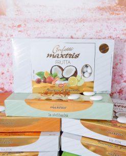confetti assortiti alla frutta bianchi maxtris
