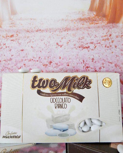 confetti da 1 kg two milk bianchi
