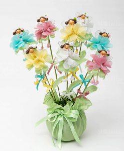 fatina fiore 4 modelli assortiti su stelo fiore assortiti linea trilly ad emozioni 1