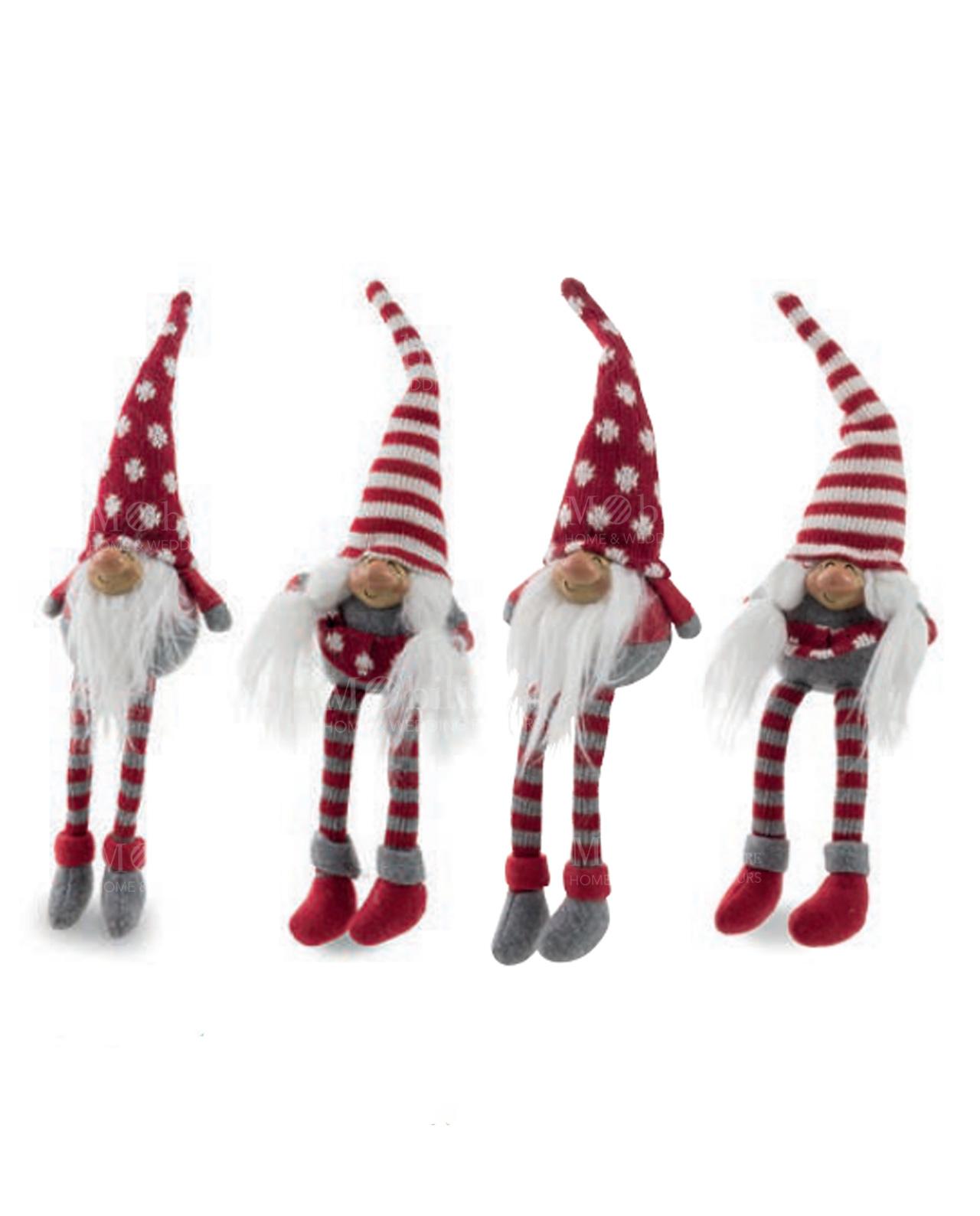 Gnomo maschio e femmina cappello di lana e gambe lunghe assortiti ... 3d3eecdf5e33