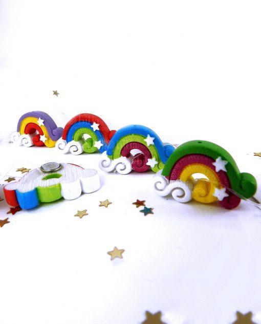 magnete arcobaleno con 3 colori