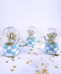 orsetto con giochino palloncino e stellina dentro palla 1