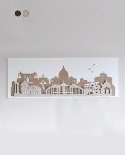 pannello decorativo modello roma colore beige e nocciola arti e mestieri