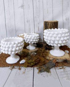 porta pianta mezza pigna bianca ceramica grandissima