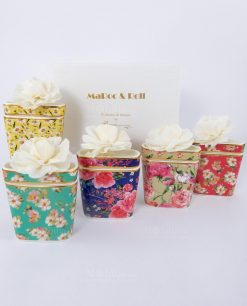 profumatore ambiente vaso porcellana colorata baci milano mini bouquet