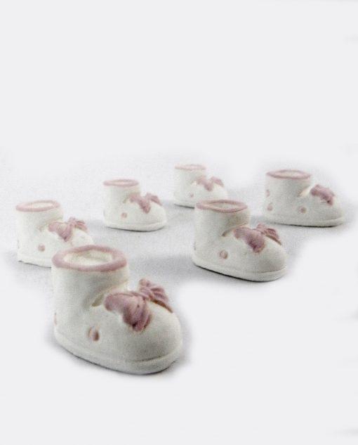 scarpatta bimba fiocco rosa