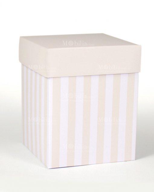 scatola alta per bomboniera sabbia