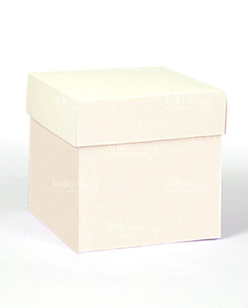 scatola porta bomboniere quadrata