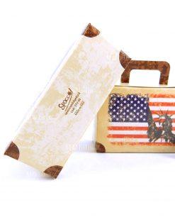 scatolina a valigia cartoncino marrone 1