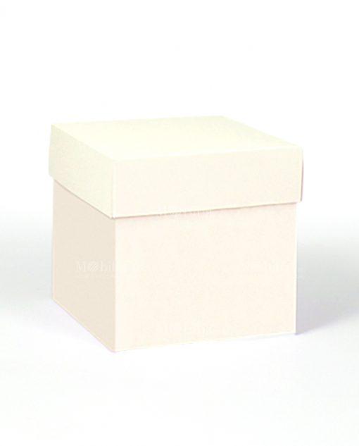 scatolina piccola cartoncino crema