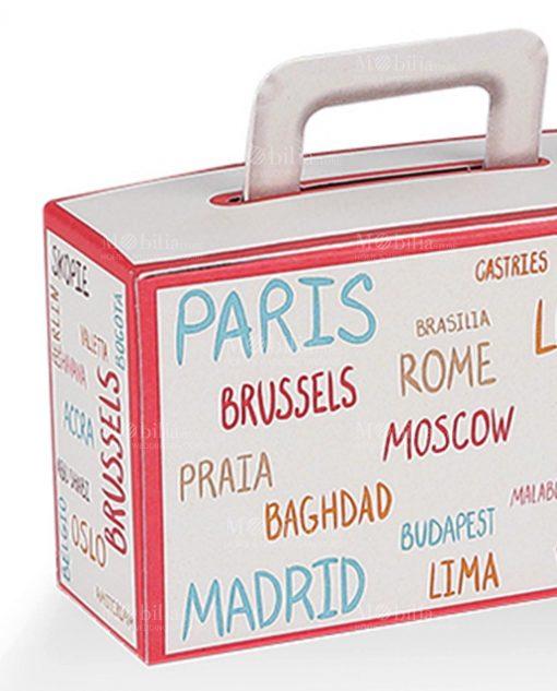 scatolina valigia con nomi città colorate 1