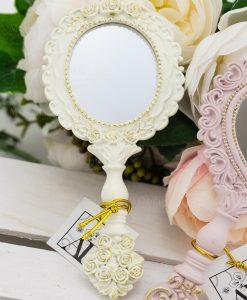 specchietto bianco linea princess ad emozioni