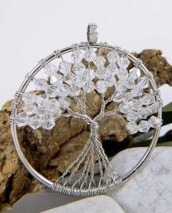ciondolo albero della vita metallo