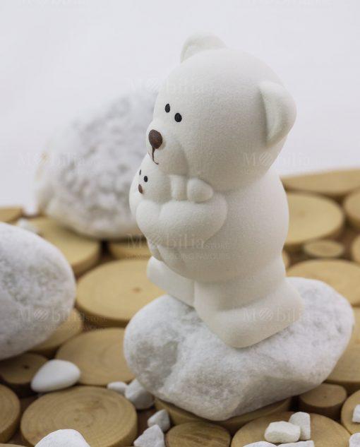 orsetto piccolo con abbraccio linea coccole polari ad emozioni