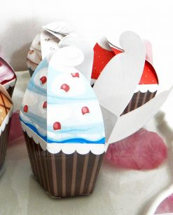 scatolina a forma di cupcake 1