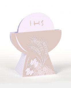 scatolina portaconfetti a forma di calice