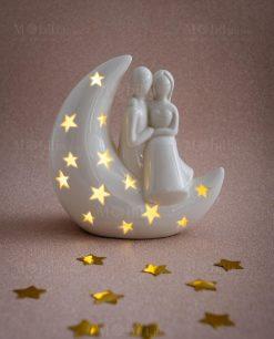 sposini su luna grande linea moonlight ad emozioni