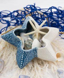 stella marina porcellana svuotatasche linea oceano ad emozioni