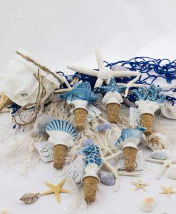 tappi modelli assortiti ceramica linea oceano ad emozioni con sacchetto bianco