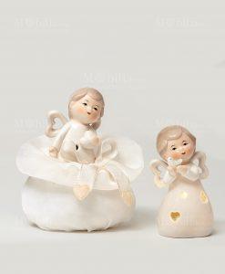 angelo 2 posizioni assortite linea happiness ad emozioni