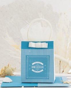 bustina portaconfetti con fiocco linea oceani rdm design